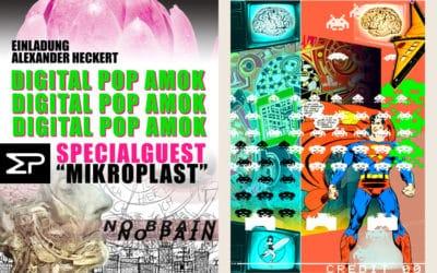 "Vernissage ""Digital Pop Amok"""