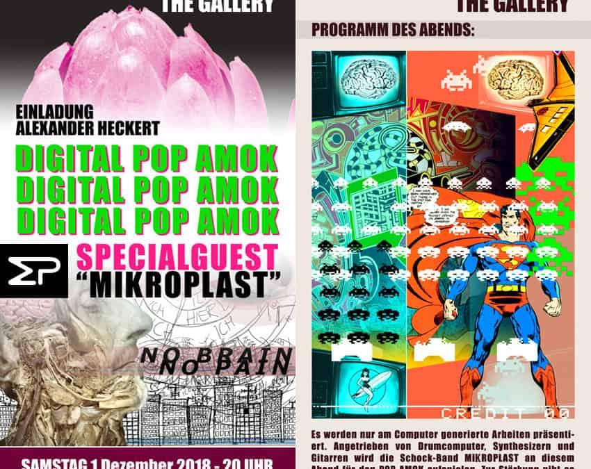 """Vernissage """"Digital PopAmok"""""""