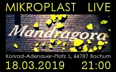 Mikroplast spielt beim Acoustic Monday im Mandragora Bochum